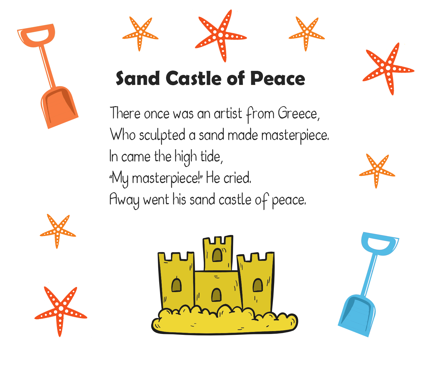 10 Sandcastle Poems For Kids