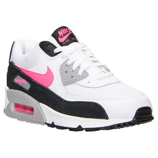 best cheap 87772 63393 ... authentic mens nike air max 90 essential running shoes finish line white  black wolf grey hyper