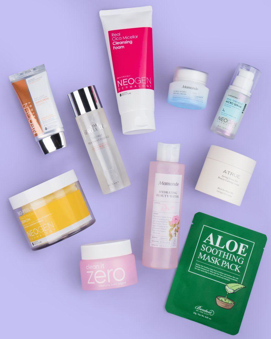 10 Step Korean Skin Care Routine Set Normal Skin Type Productos Para La Piel Piel Maquillaje