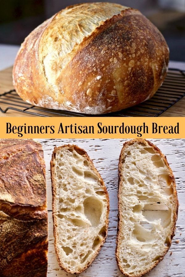 Beginner Artisan Sourdough Bread Recipe