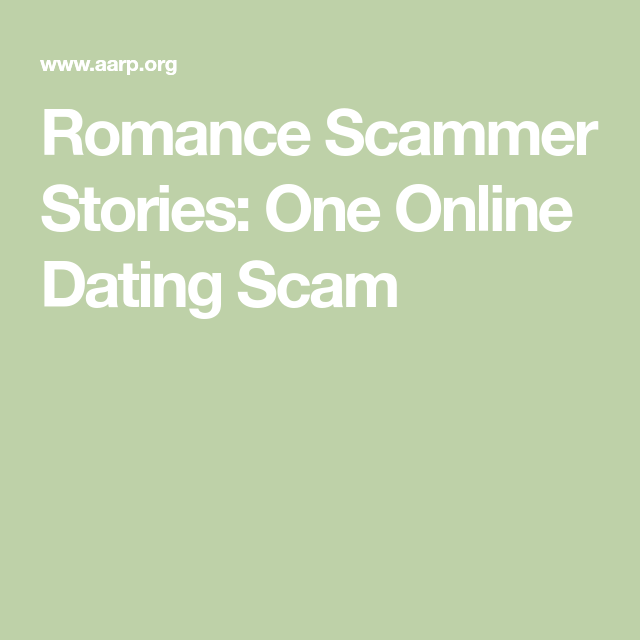dating sites scams stories