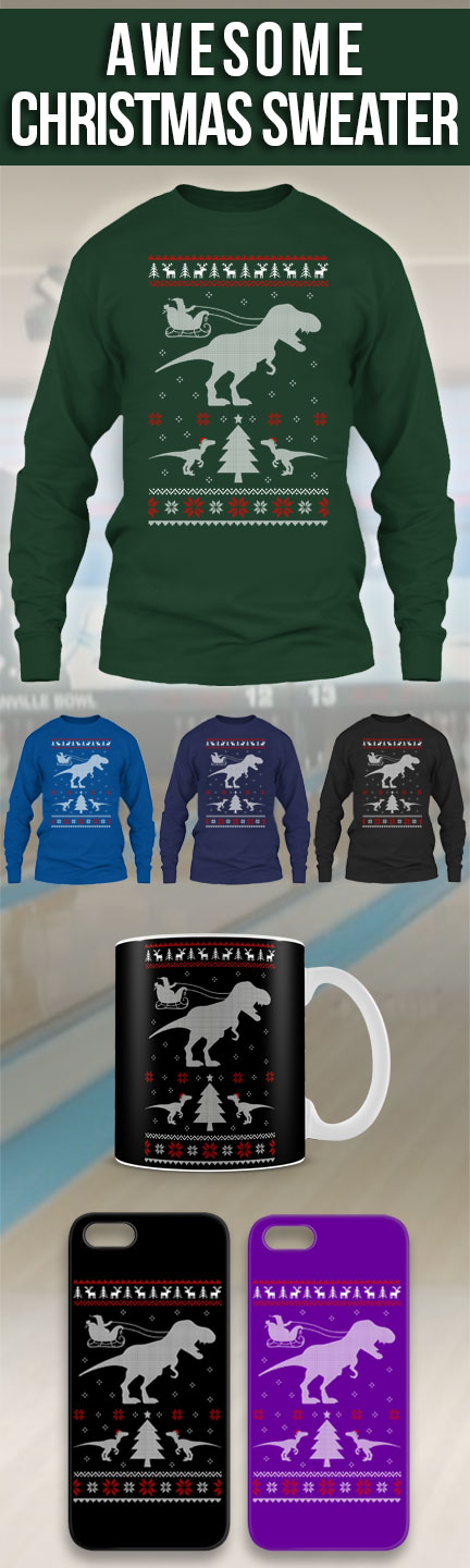 Jurassic Park Ugly Christmas Sweater Click The Image To Buy It Now