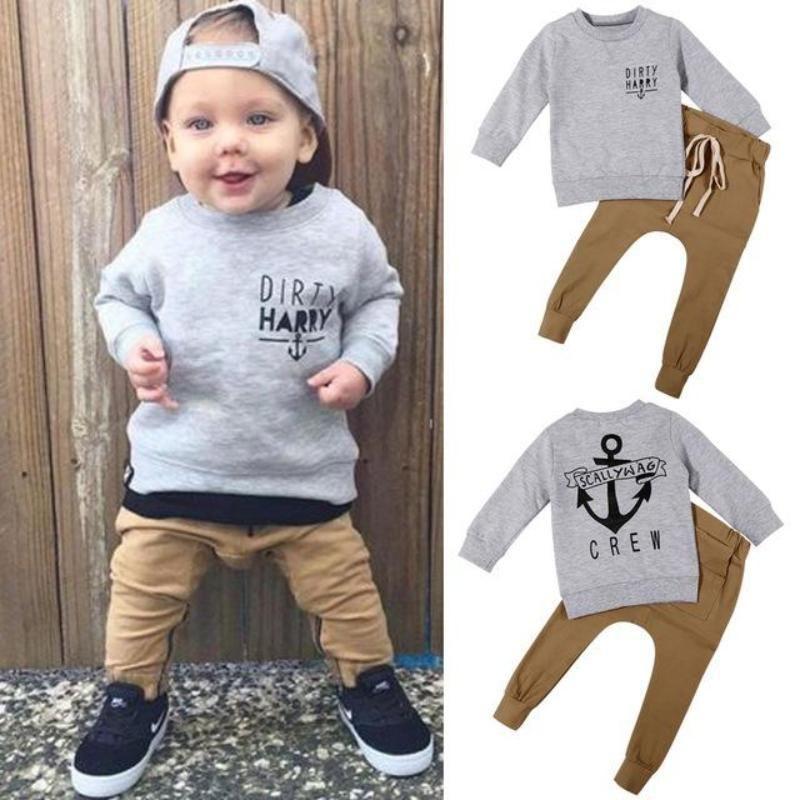 Toddler Baby Boys Girls Warm Coat Sweatshirts Infant Printed Blouse Hoodies Tops