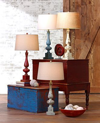 Closeout Pacific Coast Cheshire Country Table Lamp Lighting