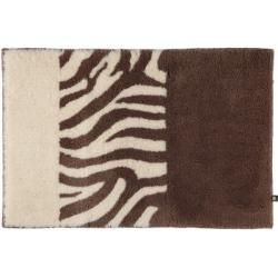 Photo of Rhomtuft Badteppich Zebra taupe/natur-jasmin – 1400 – 50×65 cm Rhomtuft
