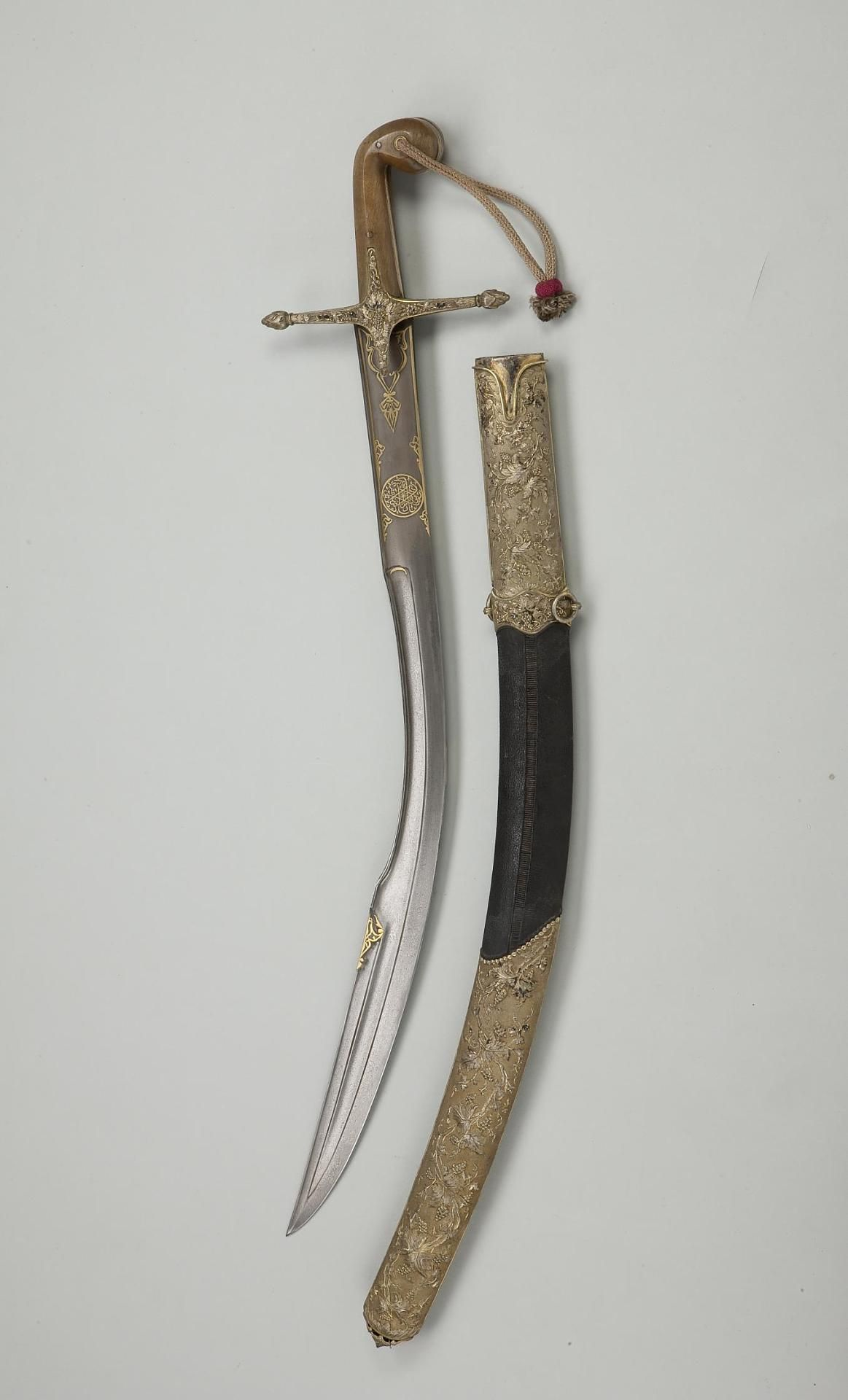 "Ottoman kilij, this is the short version known as ""pala ..."