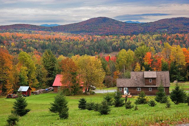 Vermont Farm by Surfingjoe, via Flickr
