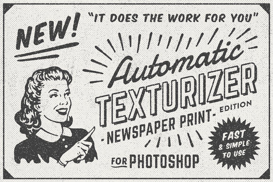 1950s Style Retro Ad Templates By District 62 Studio On