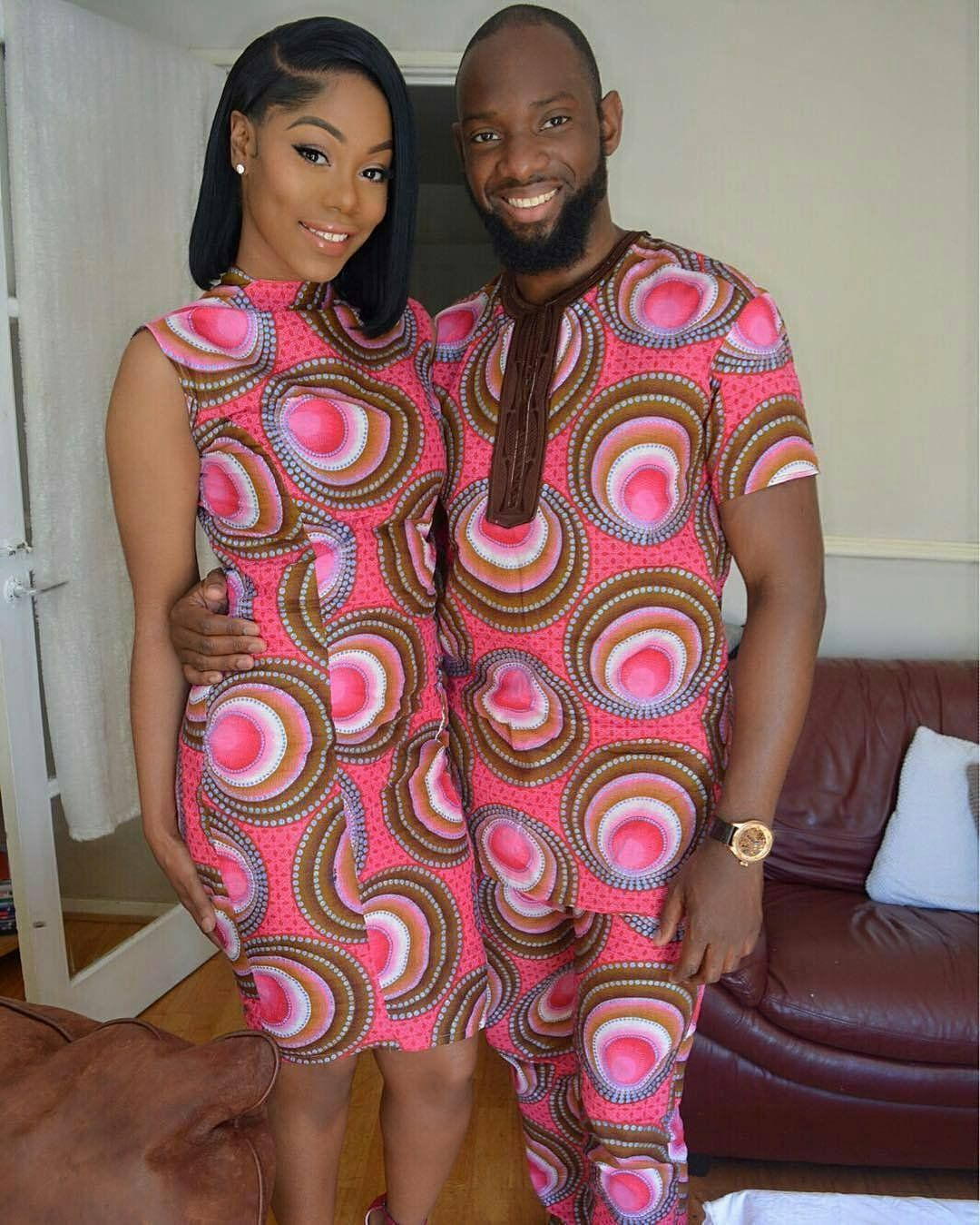 Latest Ankara Styles For Couples in 2018 , Wedding Digest Naija
