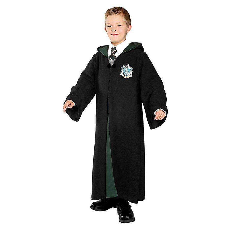 Harry Potter Slytherin Umhang Kinderkostum Kinder Kostum Harry Potter Kleidung Harry Potter Kostum