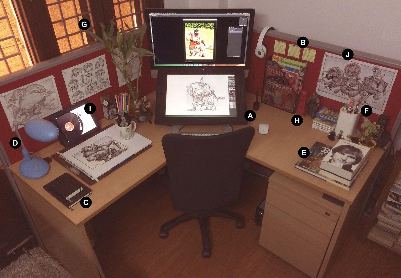 Workstations Your Podium For Creativity By Kshiraj On Deviantart