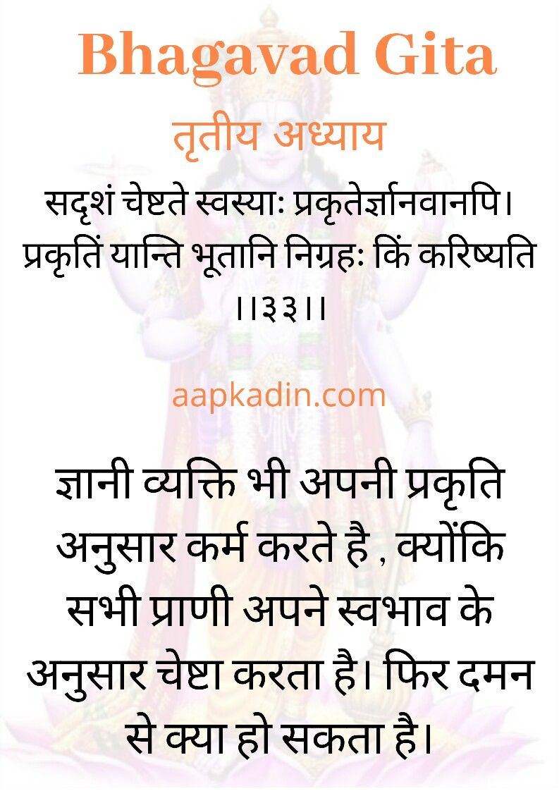 Bhagavadgita Geeta Gitaupdesh Geetainhindi Sanskrit Hindi Krishna Quotes Sanskrit Quotes Gita Quotes