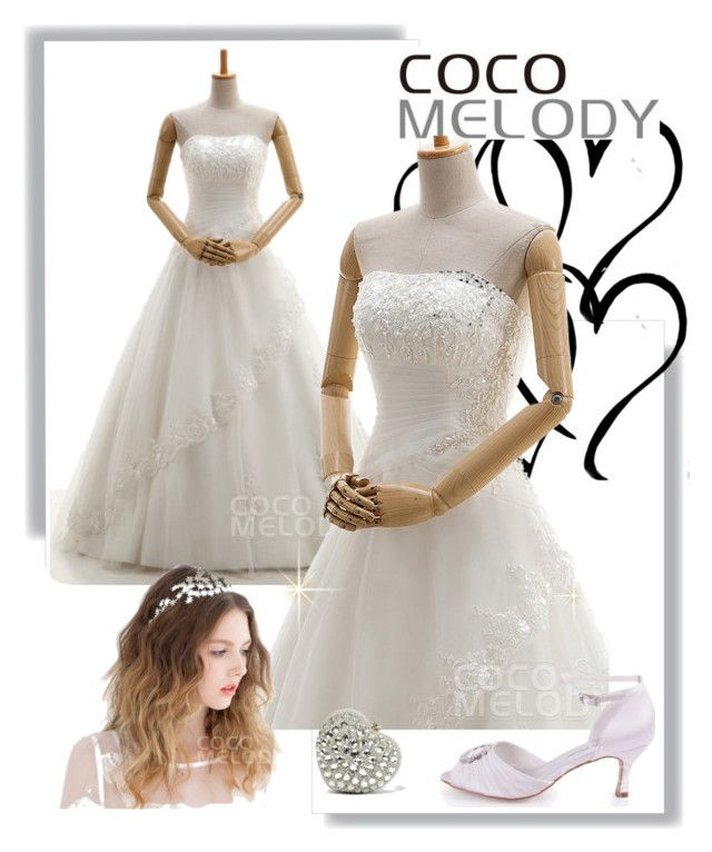 """""""CocoMelody wedding dresses No.20"""" by cocomelodydress ❤ liked on Polyvore"""