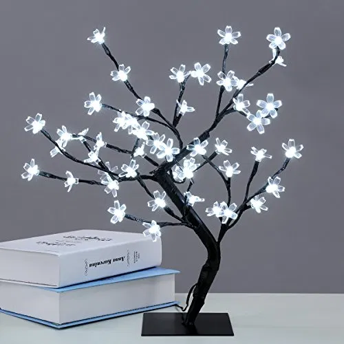Excelvan Cherry Blossom Desk Top Bonsai Tree Light Best Offer Home Garden And Tools Shop Ineedthebestoffer Com Ceri