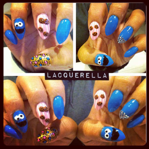 cookie monster claws