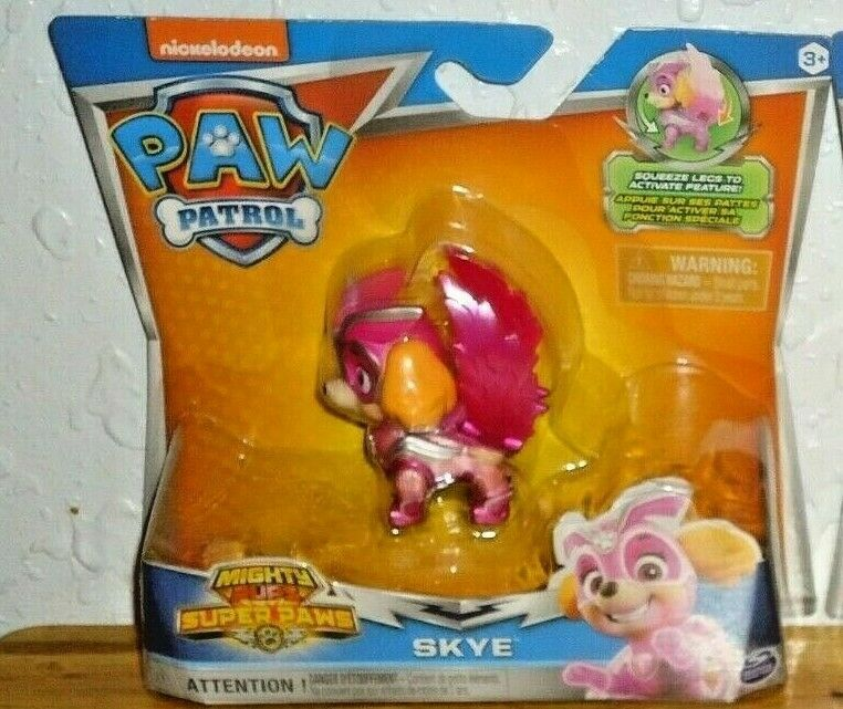Paw Patrol Mighty Pups Super Paws Skye Action Figure