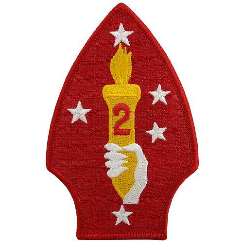 2nd Marine Division Class A Patch United States Marine Corps Marine Corps United States Marine