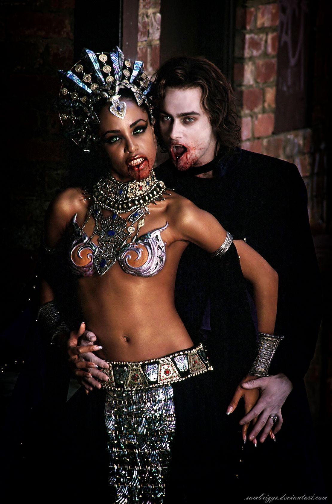 Akasha And Lestat by SamBriggs.deviantart.com on @deviantART ...