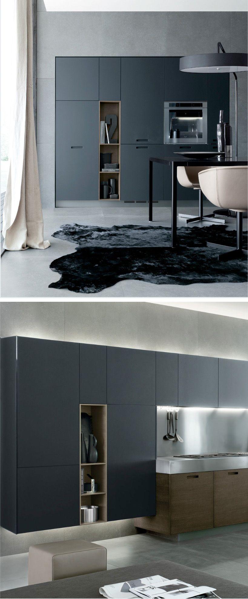 Modern bathroom design kitchen k che wohnung k che e for Letto minimalista