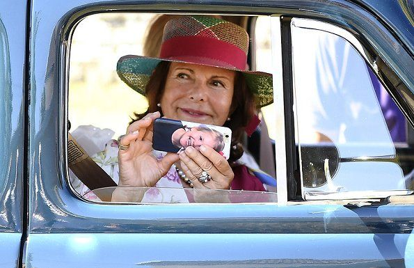 Queen Silvia attend the opening of Kungsrallyt 2016