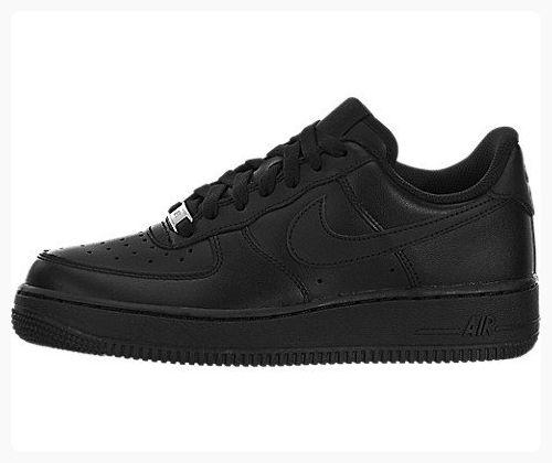 Nike Air Force 1 Black Black Womens