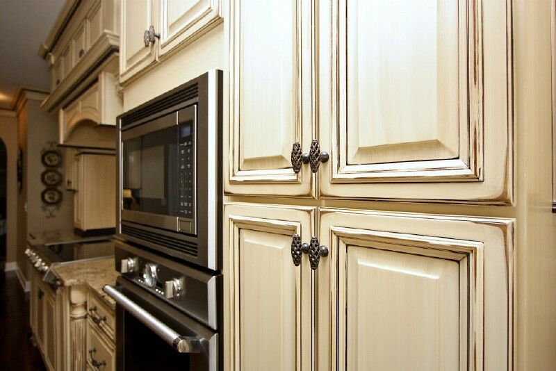 Kitchen Cabinets Glaze And Distress 5 Glazed. Antique White ... - How To Antique Glaze White Cabinets Functionalities.net