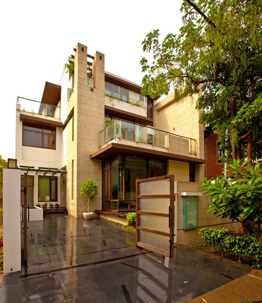 Indian Home Exterior Design Pictures