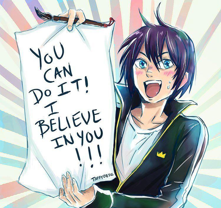 Motivation and Effort is everything anime manga