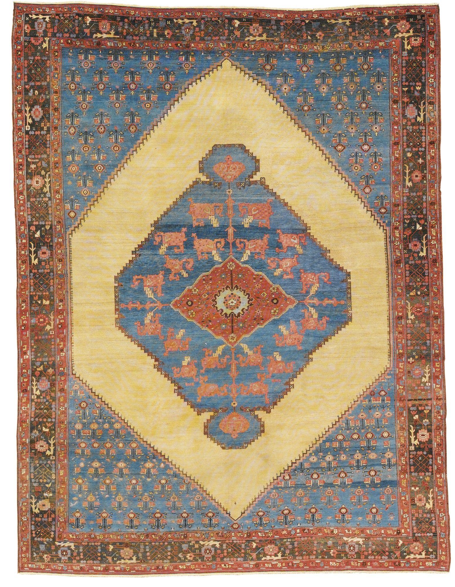 Persian bakshaish rug circa tapetespaneauxpassamanaria