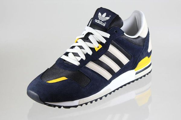 Adidas Zx 700 Running Shoes Hot Likeness Yellow Grey Womens White