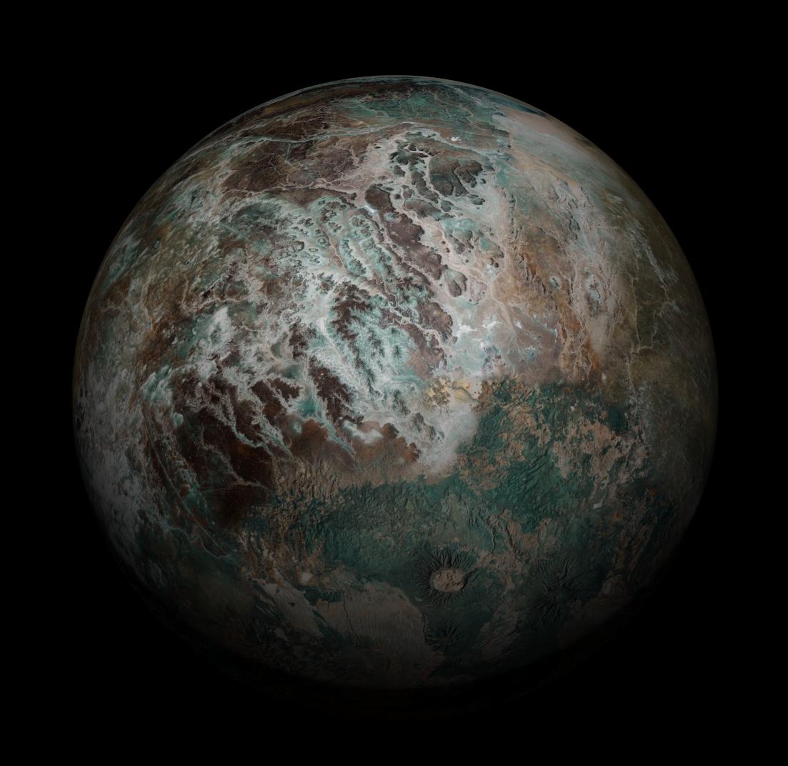 d79d778509c Planet Arnessk. Seamless Lat-long Alien Planet bitmap for 3D rendering.   farscape  scifi  deepspace  Cinema4D  blender  3Dcoat