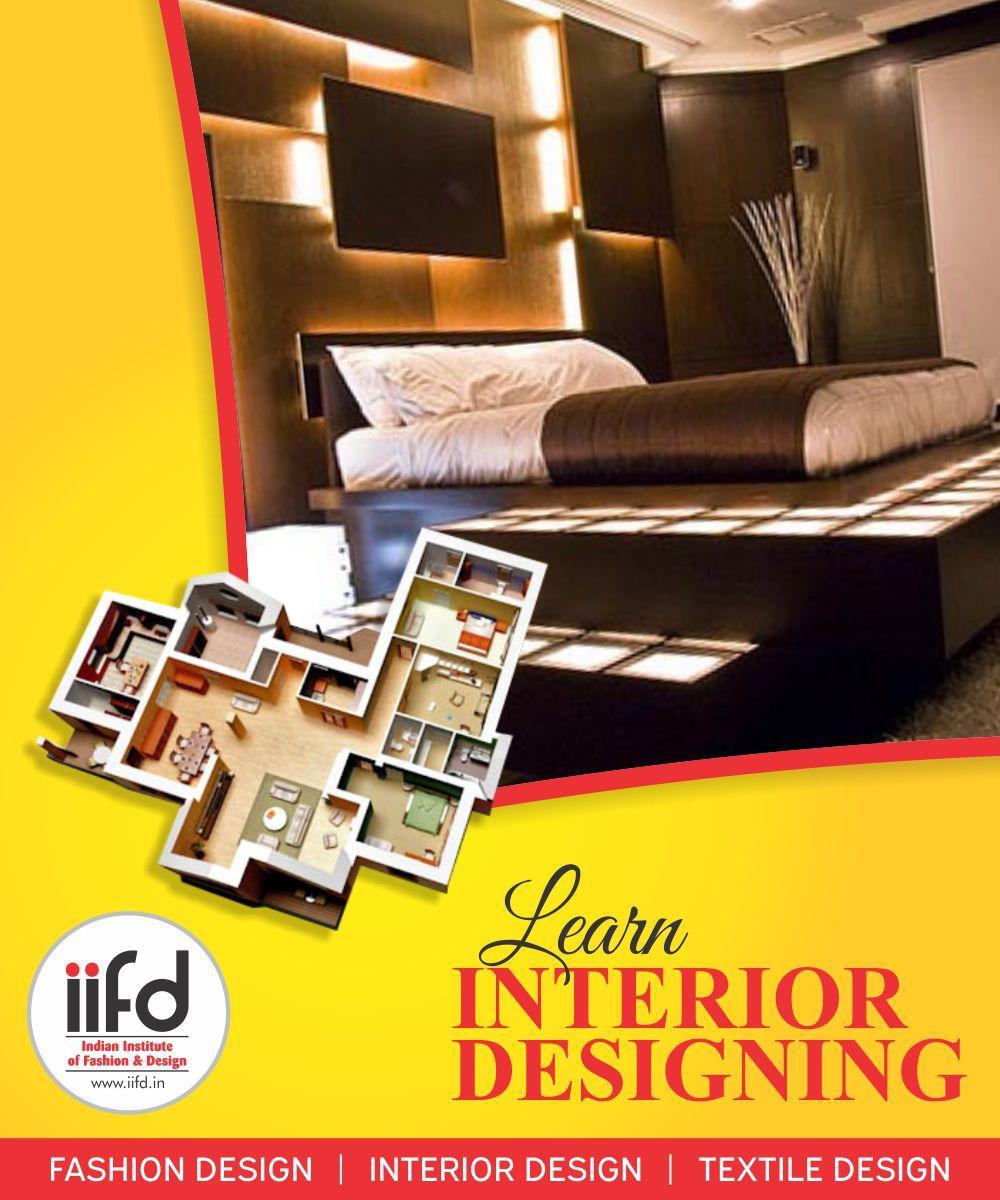 B Sc In Interior Designing Chandigarh Iifd Interior Design Degree Fashion Designing Course Interior Design