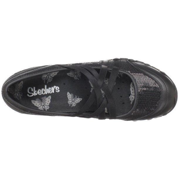 8da3a0664a485 Skechers Women's Bikers - Girls-Night-Out Black Mules Flats 21138 3 ...