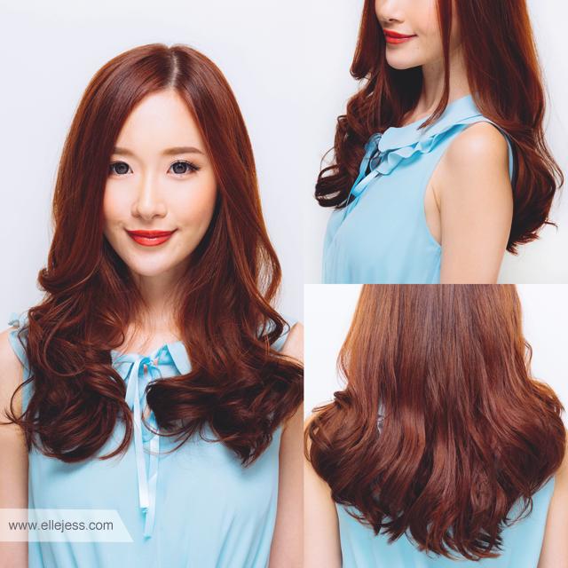 pin ky hair design