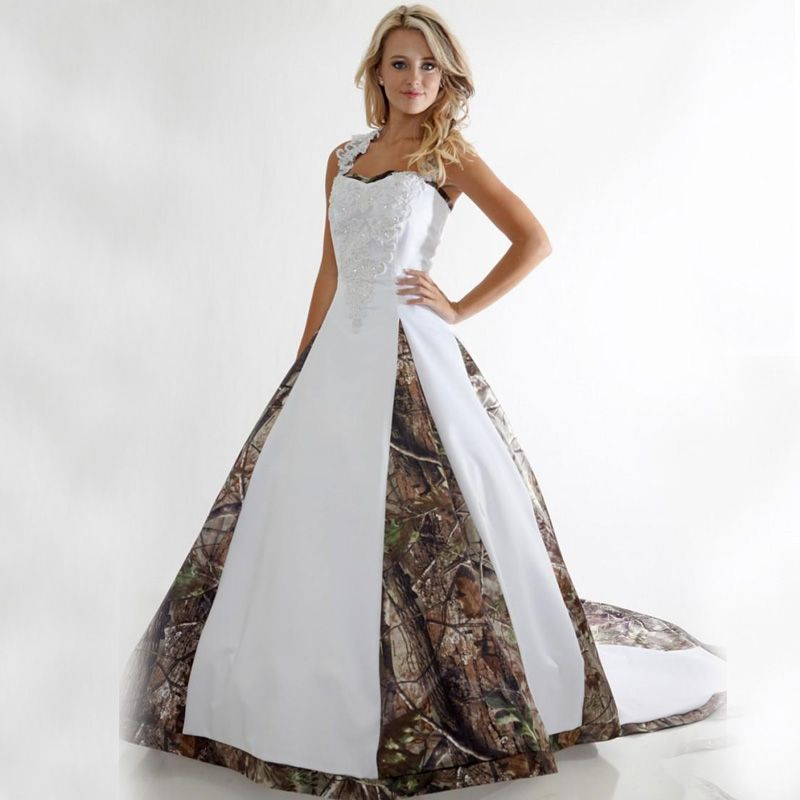find more wedding dresses information about plus size camo wedding