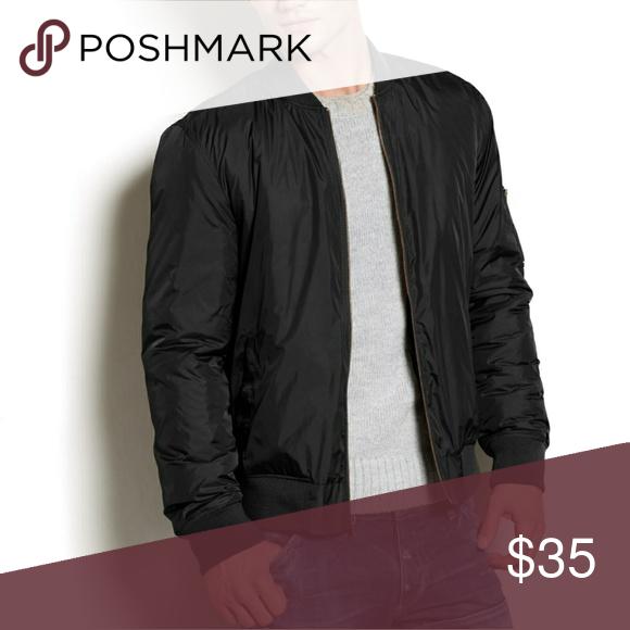 78ba8ff3b1a American Rag Jackets. American rag jacket.Size large.Black color.Shoulder  to bottom 27