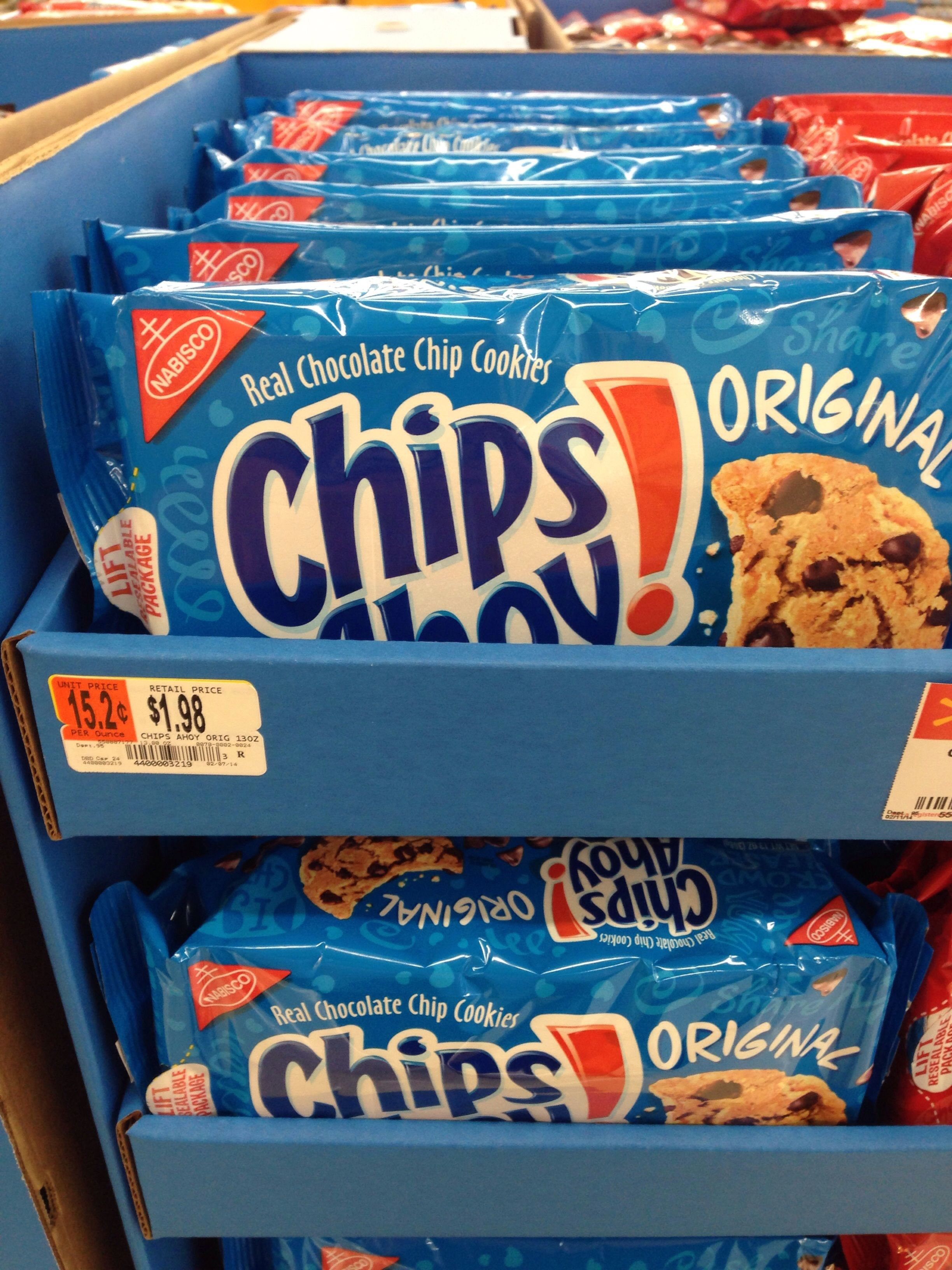 Chips Ahoy HOT DEAL at Walmart!! $1.61 a pk ~ Walmart has all the ...