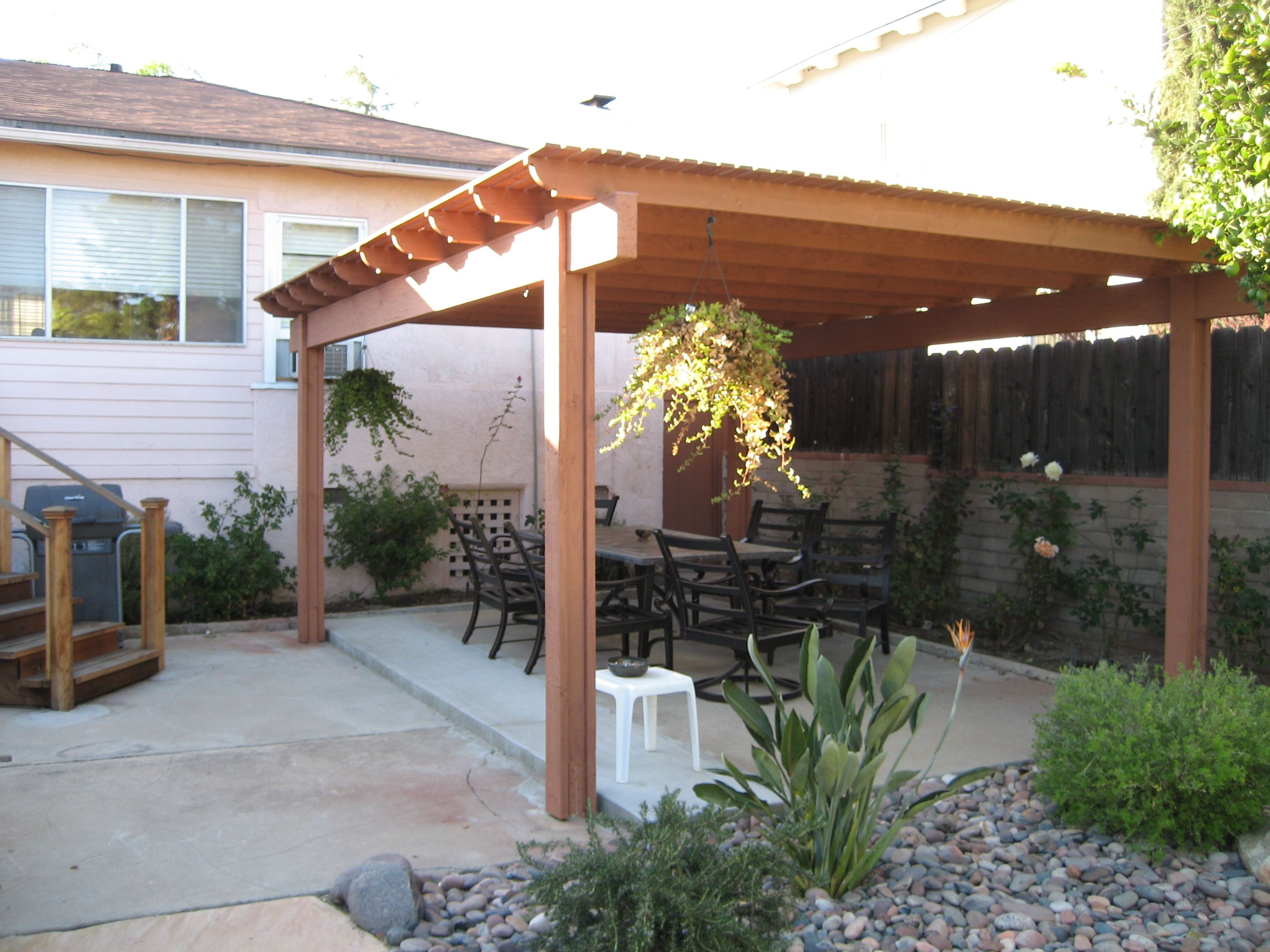 Covered patio designs pictures covered patio design 1049 for Outside home remodeling ideas