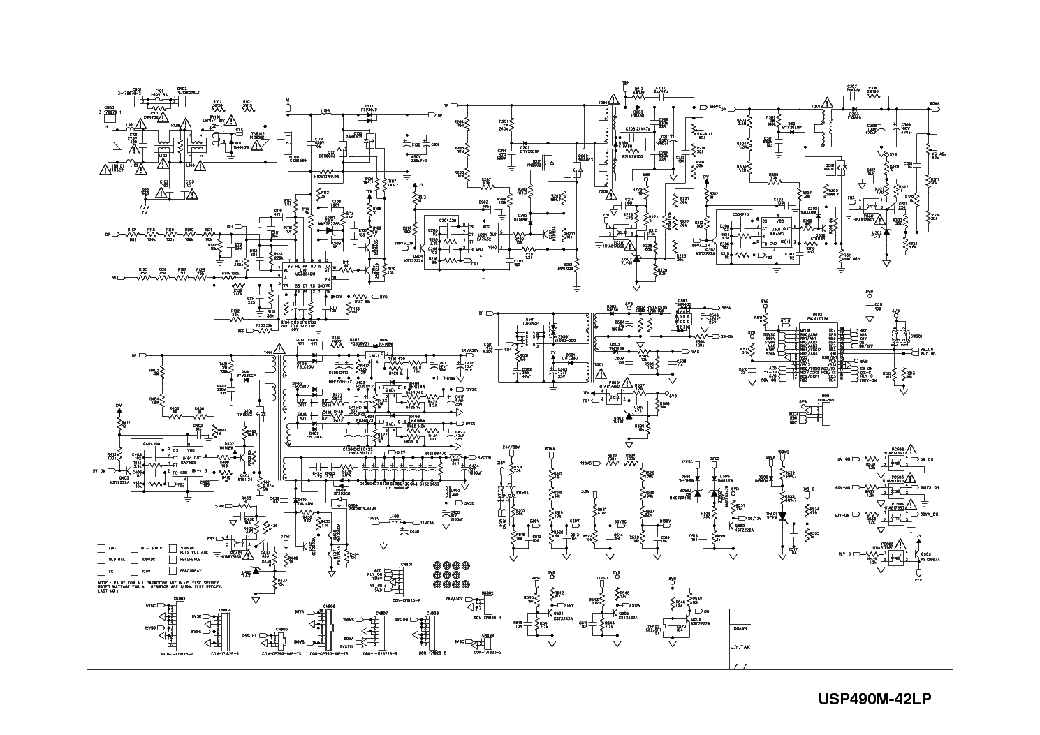 lg tv circuit diagram including power supply schematic diagram tv power supply schematic diagram likewise samsung led tv power supply [ 1489 x 1053 Pixel ]