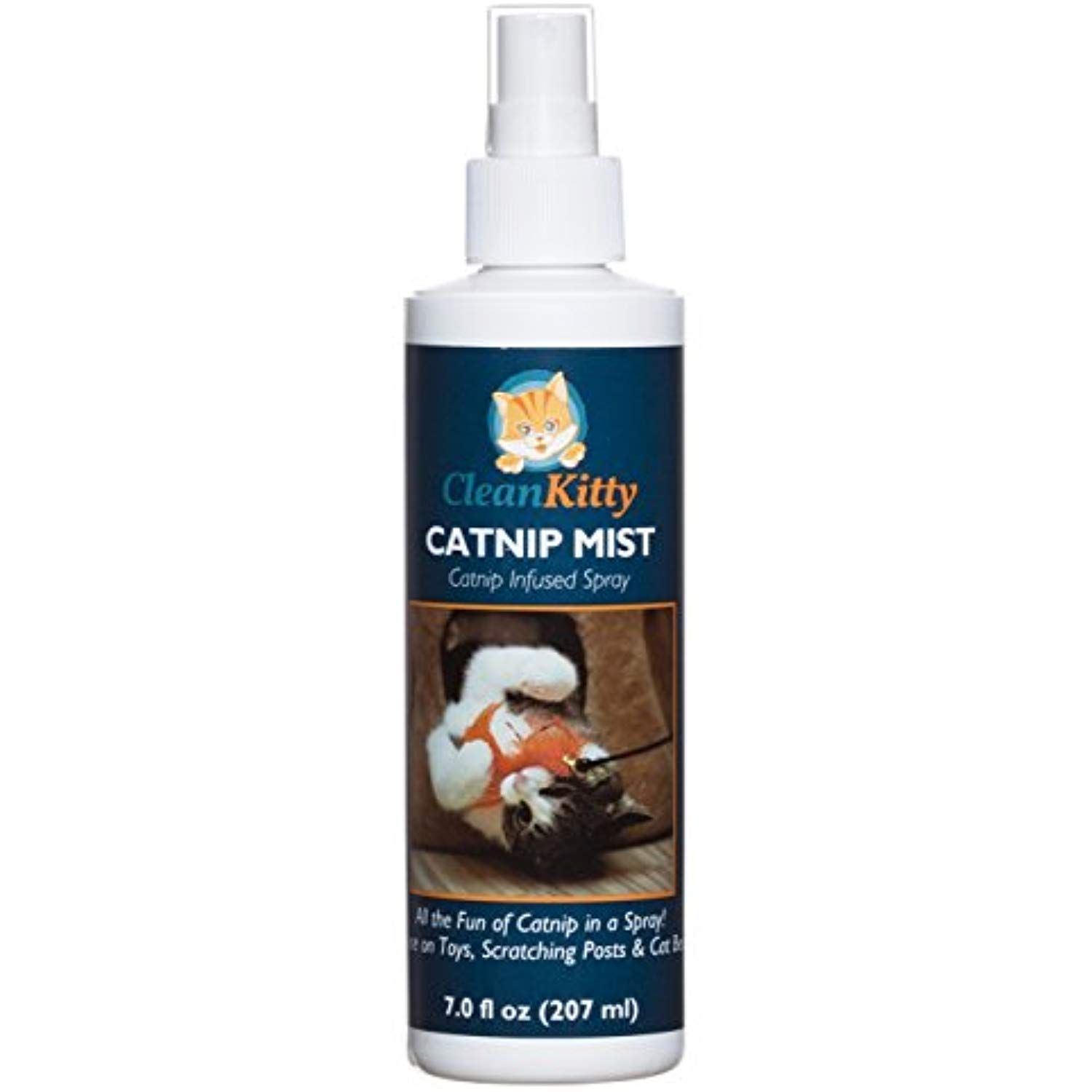 Clean kitty Catnip Makes Cat Go Crazy Mist Infused Spray
