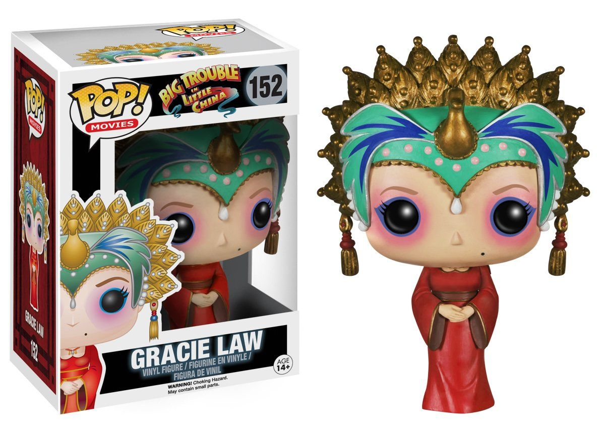 Amazon.com: Funko POP Movies: Big Trouble in Little China-Gracie Law Action Figure: Toys & Games