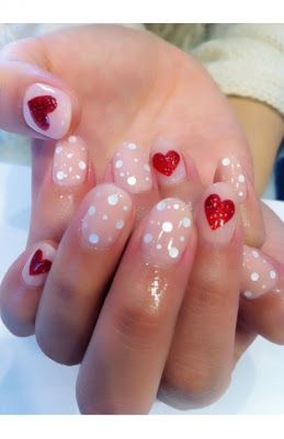 Valentine S Day Nail Art Tumblr Check Out Www Mynailpolishobsession For More
