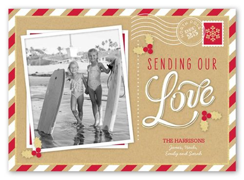 Loving Postcard 5x7 Stationery Card by Yours Truly Shutterfly