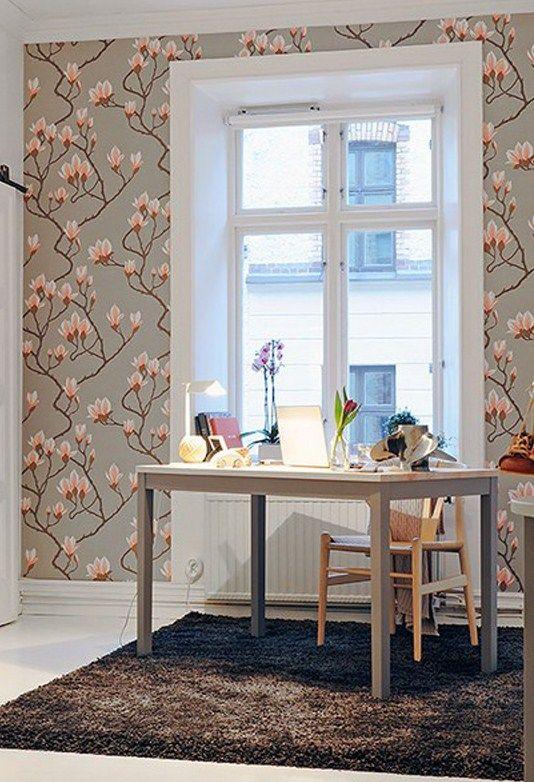 Cole & Son Magnolia Wallpaper Magnolia wallpaper, Home