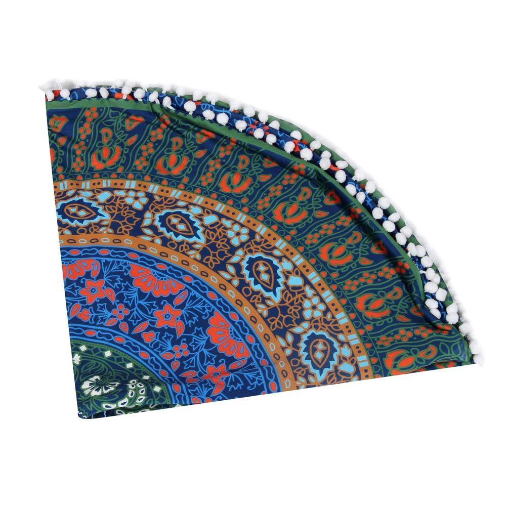 Indian Large Mandala Floor Pillows Round Bohemian Cushion Cushions Cov