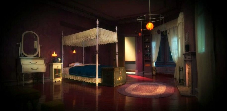 Coraline Set Coraline S Other Bedroom The Entire Film Is Stop Motion Animation So If The Mood And Lighting Is Right Coraline Coraline Movie Coraline Jones