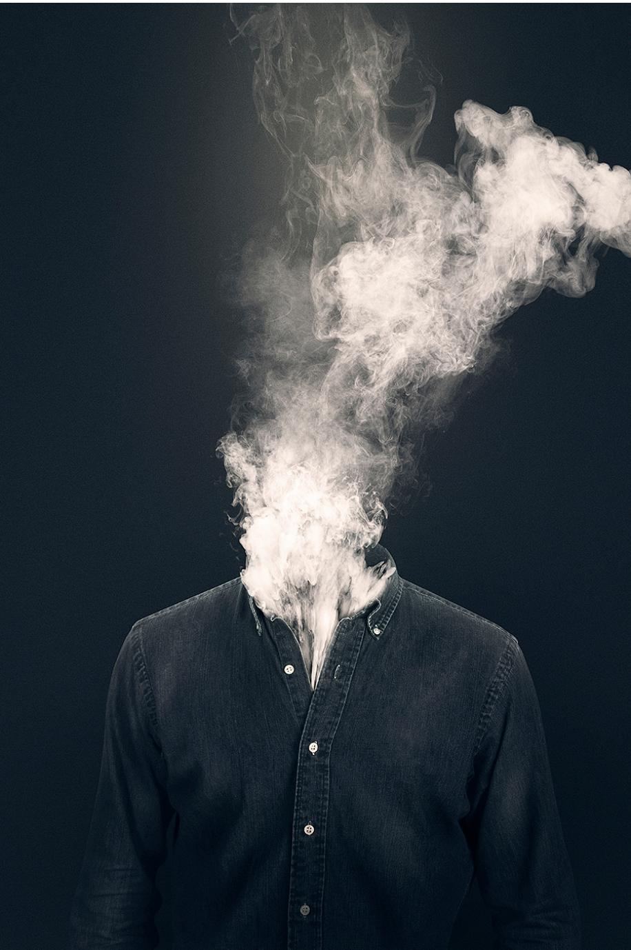 smoke photo manipulation