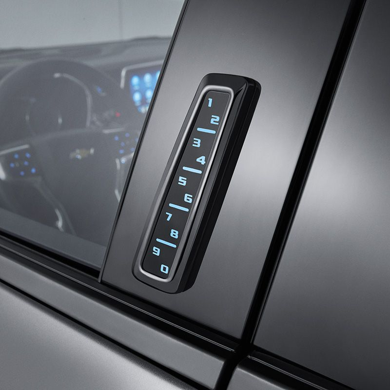The Silverado 2500 Remote Keyless Entry Keypad System Provides Entry To Your Vehicle Without A Key K Keyless Entry Systems Silverado 1500 Accessories Silverado