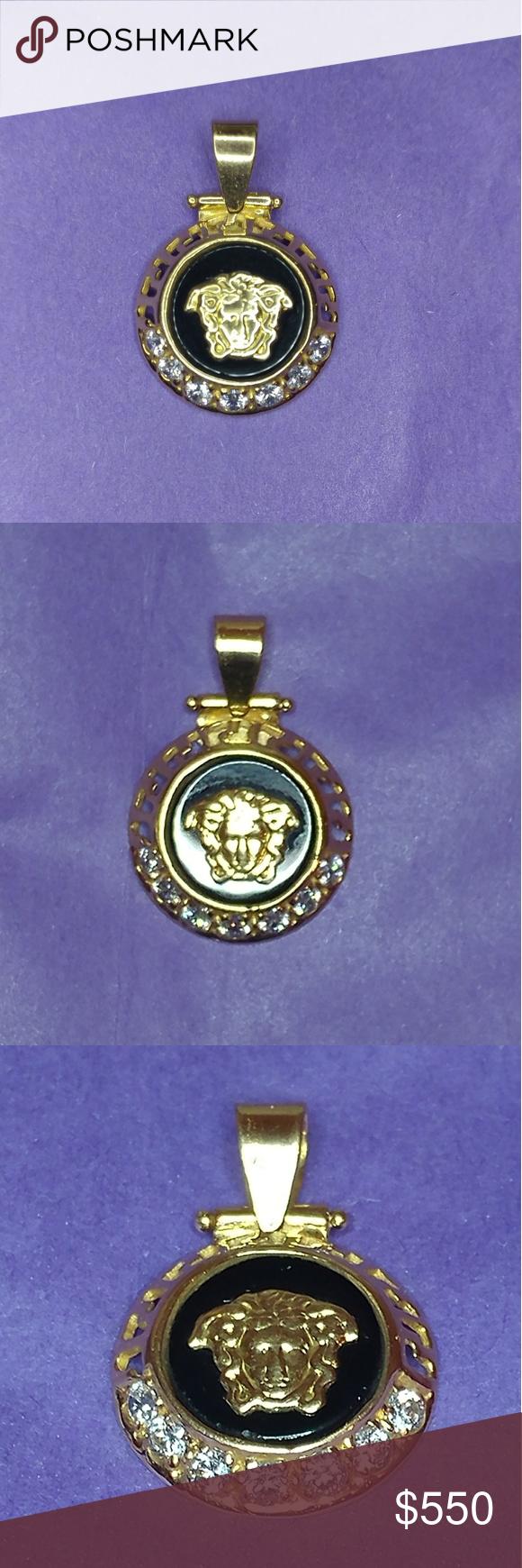 vintage k versace pendant beautiful and unique this vintage