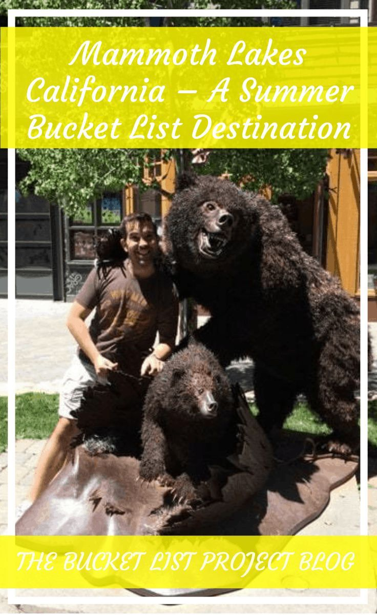 Most know Mammoth California as a popular winter destination but it's also great during the summer too! Discover 11 reasons everyone should make Mammoth Lakes, California a Summer Bucket List Destination. #VisitMammoth #MammothStories #mammothlakes #MammothMountain #VisitCalifornia #SummerBucketList #SummerFun #CaliforniaVacation #CaliforniaDreamin
